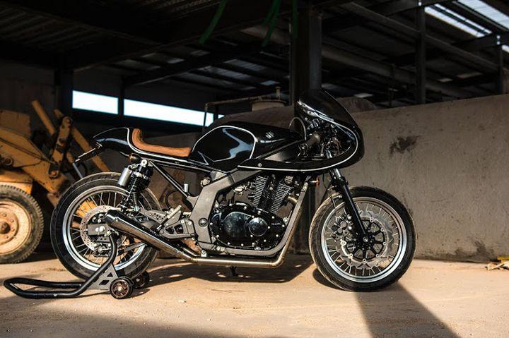 Suzuki GS500 Cafe Racer - H2 Moto 1