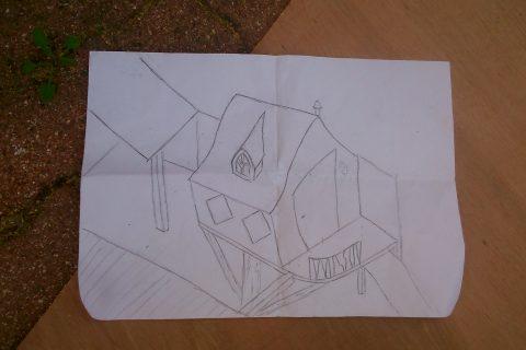 Structure de la cabane