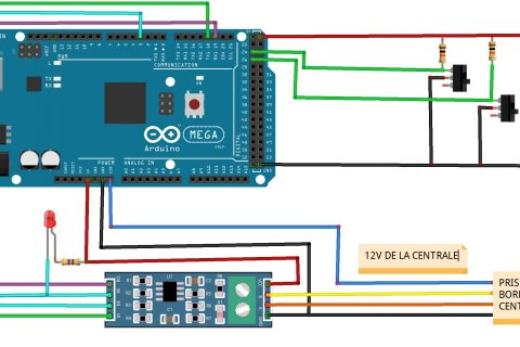 TCO Xpressnet avec un Arduino